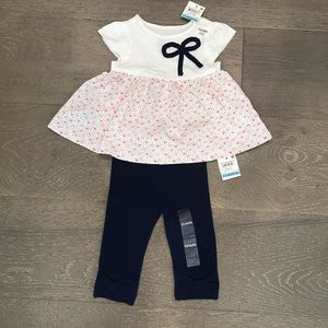 NWT Macy's baby girl outfit